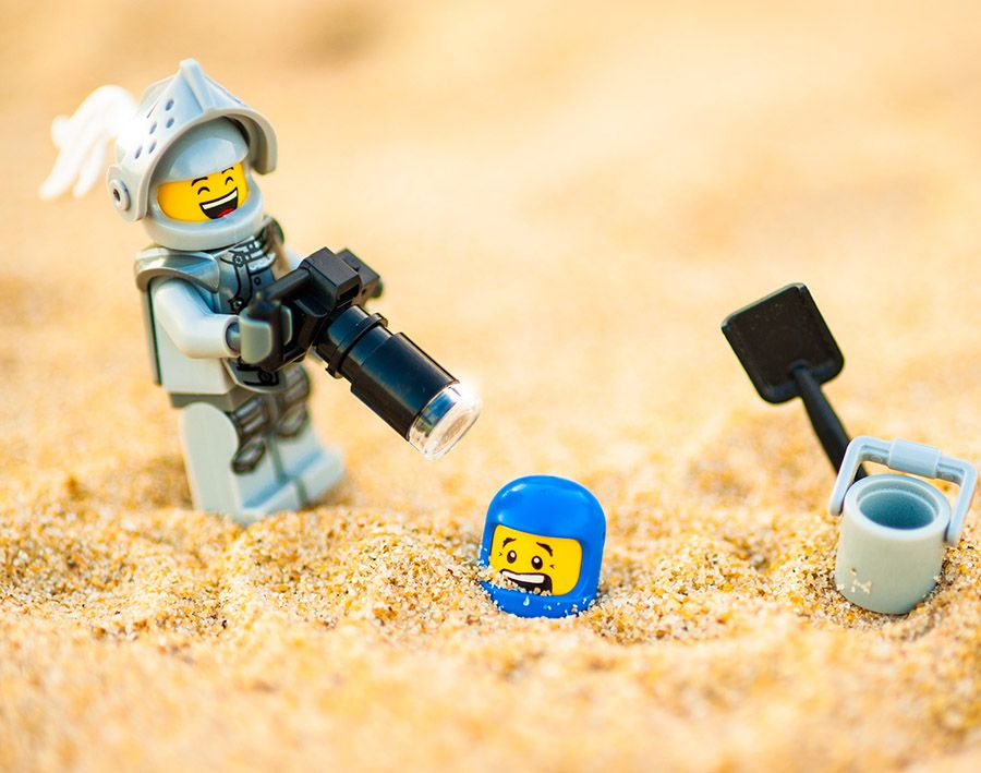 Hobbies like Star Wars, Lego and Mobile games